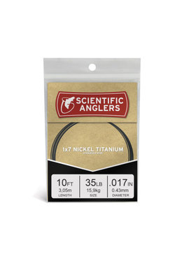 Scientific Anglers SCIENTIFIC ANGLERS STRANDED NICKEL TITANIUM WIRE