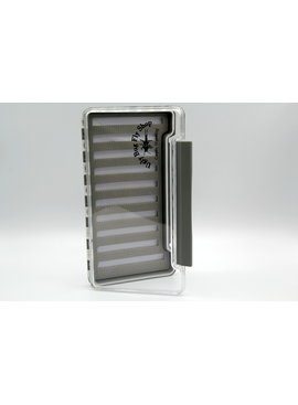 NEW PHASE X LARGE SLIM FLY BOX 9.25X5x7/8 WATERPROOF