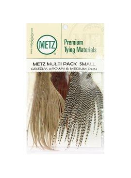Umpqua Feather Merchants METZ MULTI PACK HACKLE