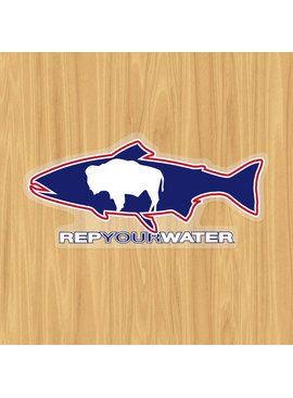 Rep Your Water REP YOUR WATER WYO BUFFALO STICKER