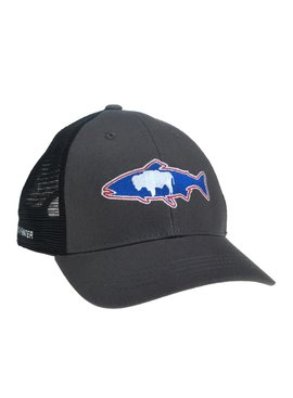 REP YOUR WATER WYOMING HAT GRAY/BLACK