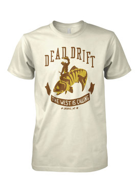 Dead Drift Dead Drift Fly Branded Tee Cream Suede XL