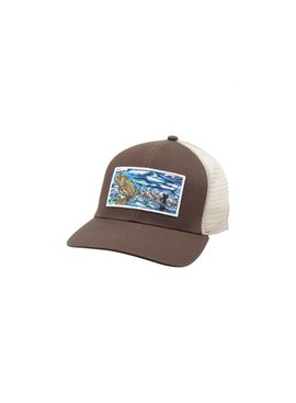 Simms Fishing Products SIMMS ARTIST TRUCKER TIGHT LINES BROWN
