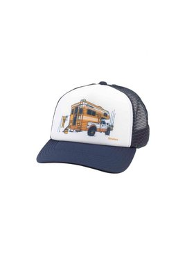 Simms Fishing Products SIMMS SLIDE IN TRUCKER HAT WHITE