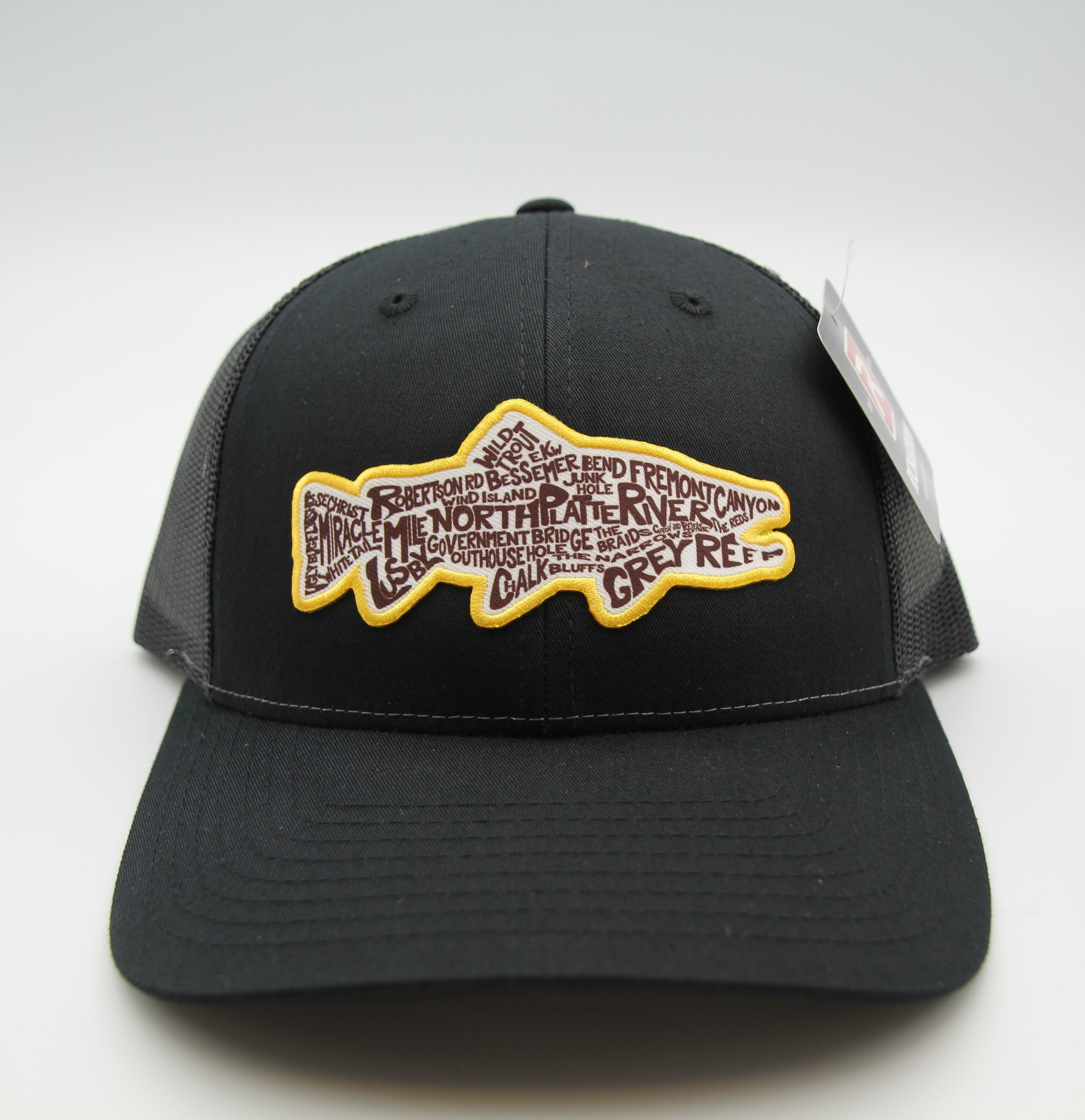 Ugly Bug Fly Shop RICHARDSON OUR RIVER TROUT PATCH HAT