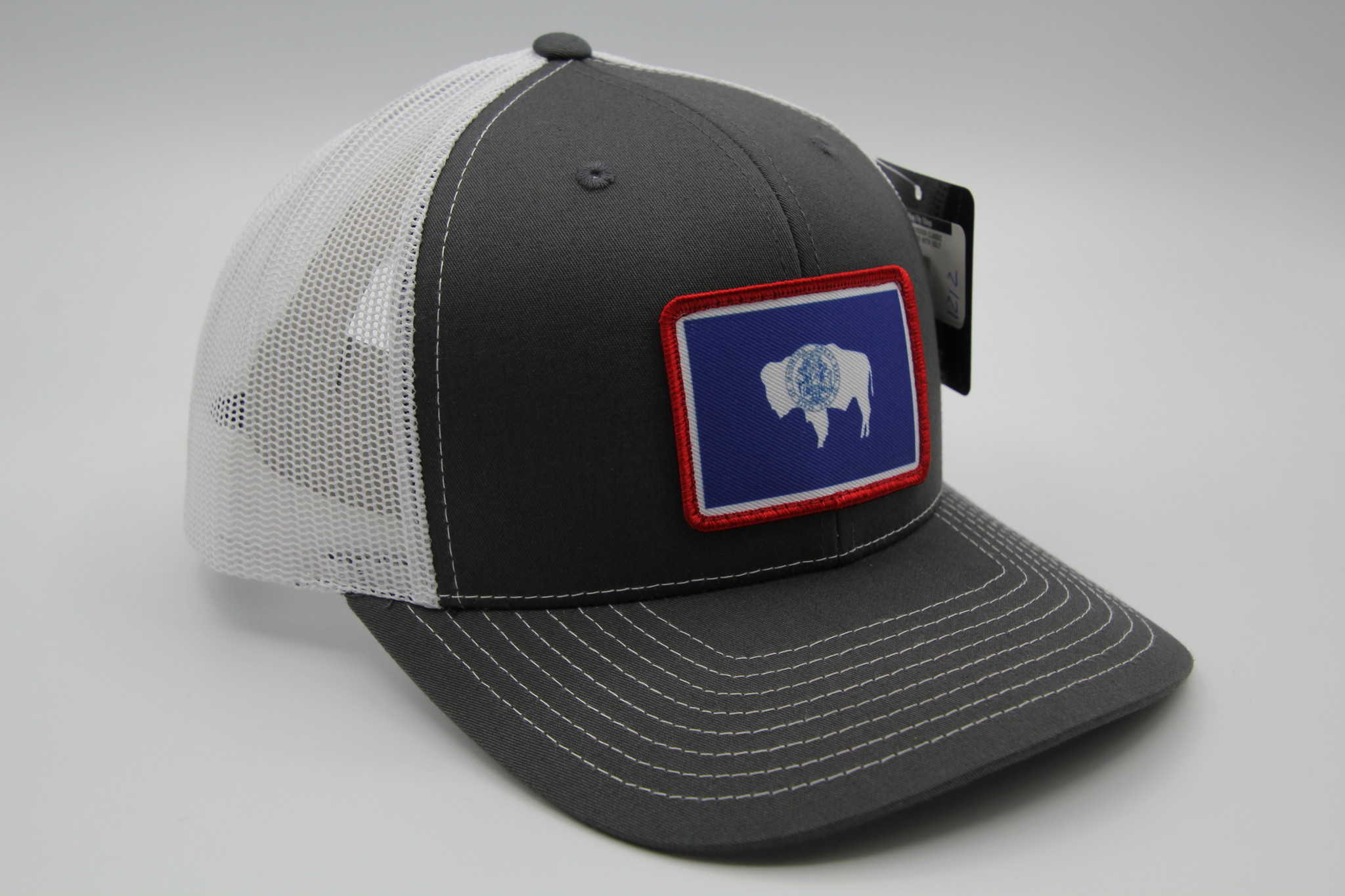 RICHARDSON WYOMING FLAG PATCH HAT