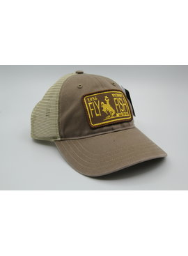RICHARDSON RICHARDSON WYO LICENSE PLATE PATCH HAT