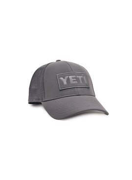 Yeti YETI GREY ON GREY PATCH TRUCKER HAT OSFM