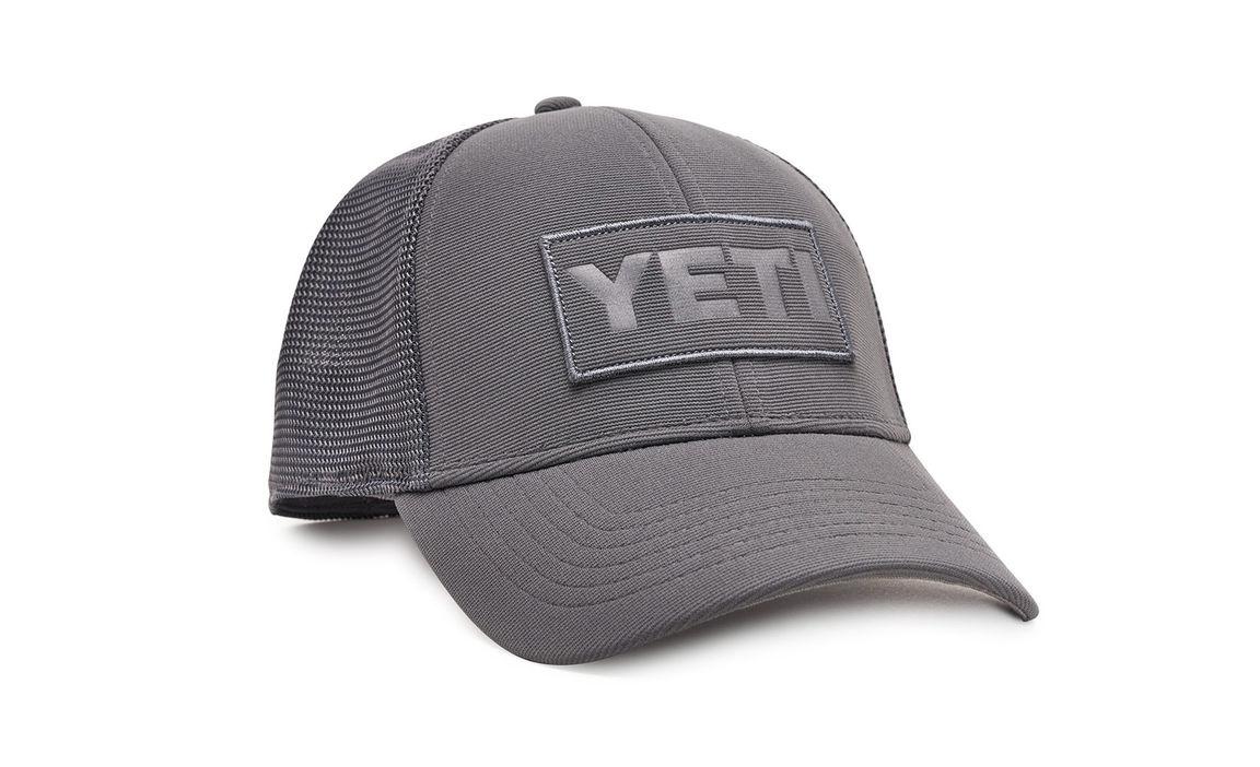 Yeti YETI GREY ON GREY PATCH TRUCKER HAT OSFM