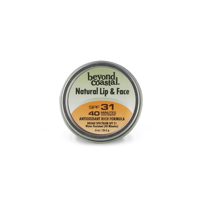 Beyond Costal BEYOND COASTAL NATURAL LIP & FACE SPF 31