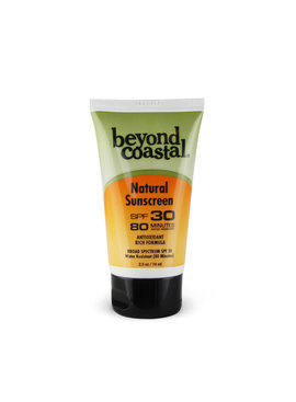 Beyond Costal BEYOND COASTAL NATURAL SUNSCREEN SPF30 2.5OZ