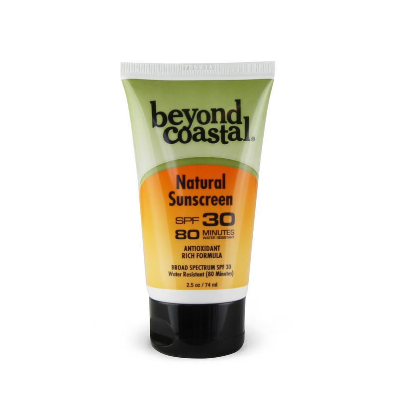 Beyond Costal BEYOND COASTAL NATURAL SUNSCREEN SPF30 2.5OZ