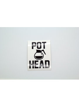 PEDENS POT HEAD STICKER