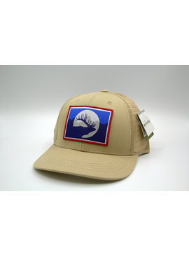 REP YOUR WILD WYOMING ELK TAN HAT