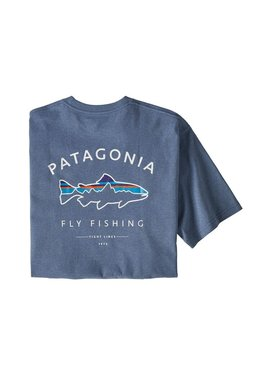 Patagonia PATAGONIA M'S FRAMED FITZ ROY TROUT RESPONSIBILI - TEE