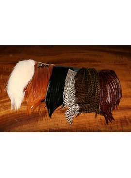 Hareline Dubbin HARELINE BUGGER HACKLE PATCHES