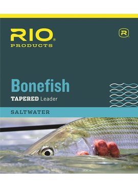 Rio RIO BONEFISH TAPERED LEADER 3 PACK 10FT