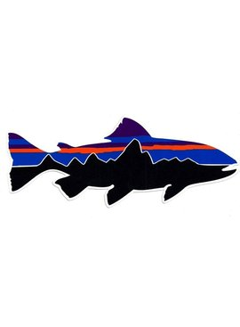 Patagonia PATAGONIA FISH STICKER