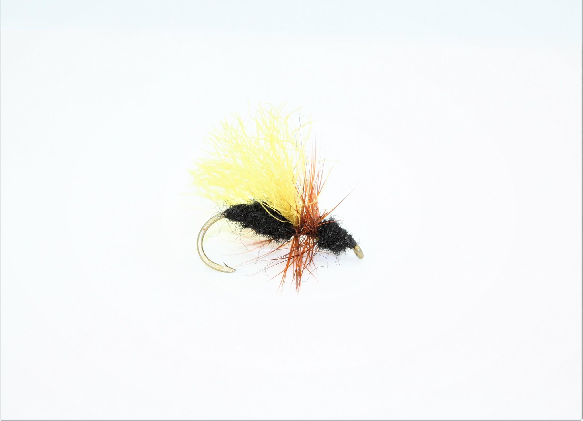 Ugly Bug Fly Shop HI VIS BLACK FLYING ANT