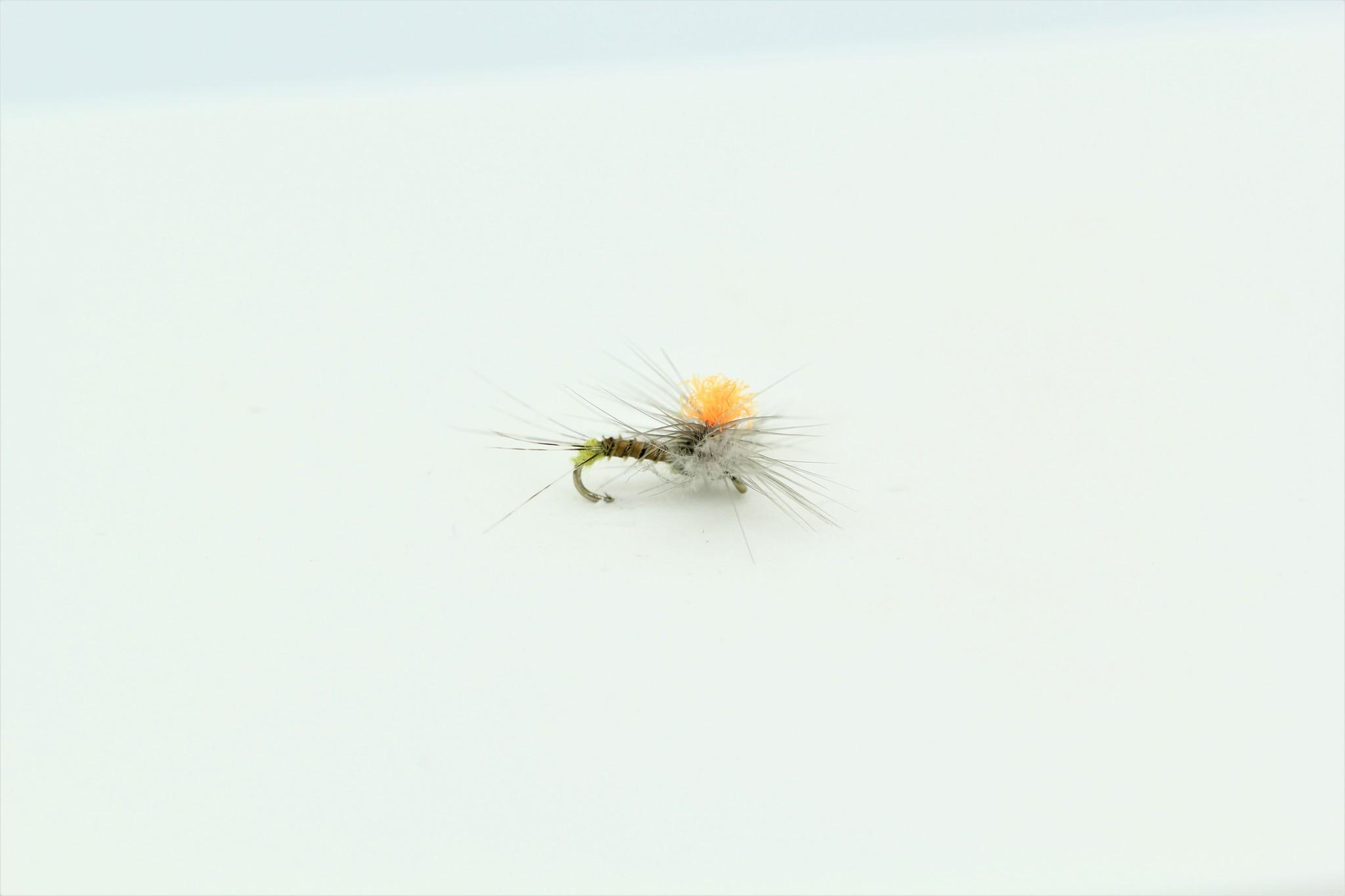 Solitude Fly Company HI-VIS SPINNER BWO