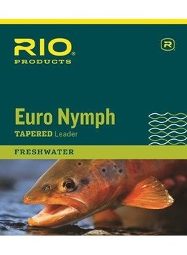 Rio RIO EURO NYMPH LEADERS WITH TIPPET RING
