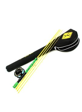 "ECHO ECHO GECKO KIDS FLY ROD OUTFIT 7' 9"" 4/5 WT"