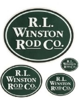 R.L. Winston Rod Co. R.L. Winston Oval Sticker