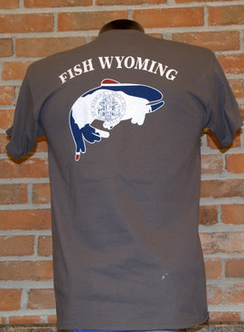 FLYOMING UGLY BUG FISH WYOMING SHIRT