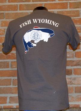 UGLY BUG FISH WYOMING SHIRT