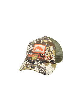 Simms Fishing Products SIMMS TROUT ICON TRUCKER CAP CAMO
