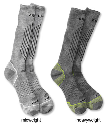 Orvis Company ORVIS WADER SOCKS MIDWEIGHT