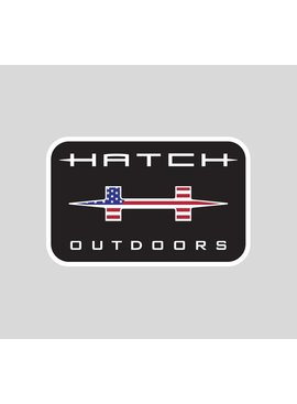 HATCH HATCH OUTDOORS STICKER BLACK