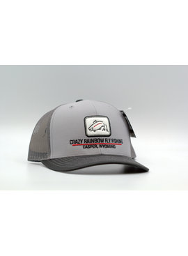 RICHARDSON RICHARDSON CRAZY RAINBOW FLY FISHING LOGO HAT