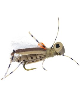 Umpqua Feather Merchants Thunder Thighs Hopper Tan Size 10
