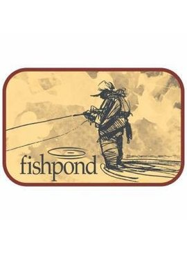 Fishpond FISHPOND BLOODKNOT STICKER
