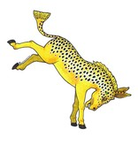 Remedy Provisions Brown Trout Donkey Decal