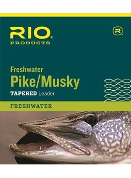 Rio RIO FRESHWATER PIKE/MUSKY LEADER WIRE WITH SNAP