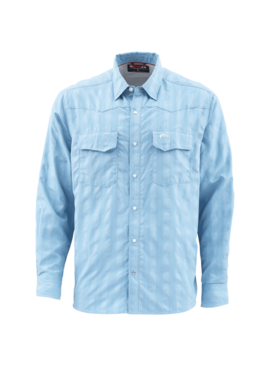 Simms Fishing Products SIMMS BIG SKY LS SHIRT WITH UGLY BUG LOGO