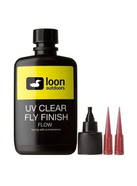 Loon Outdoors LOON UV CLEAR FLY FINISH 2oz BOTTLE