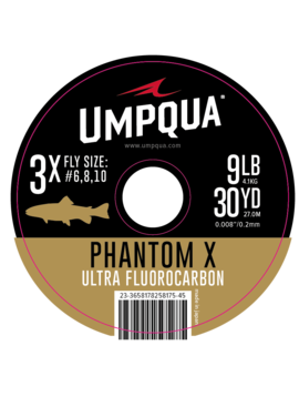 Umpqua Feather Merchants UMPQUA PHANTOM X ULTRA FLUOROCARBON