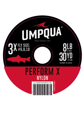 Umpqua Feather Merchants UMPQUA PERFORM X NYLON TIPPET