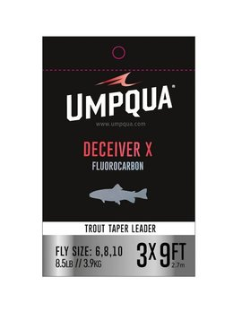 Umpqua Feather Merchants UMPQUA DECEIVER X FLUOROCARBON LEADER