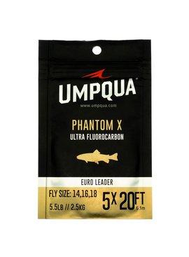 Umpqua Feather Merchants UMPQUA PHANTOM X ULTRA FLOURO EURO LEADER