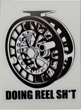 FLYOMING FLYOMING REEL SH*T STICKER