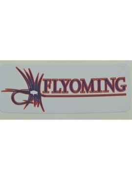 FLYOMING FLYOMING 3*5 STATE FLAG STICKER