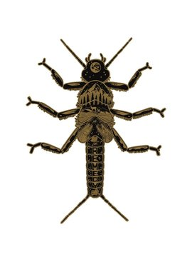 Remedy Provisions REMEDY PROVISIONS GOLDEN STONEFLY DECAL