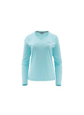 Simms Fishing Products SIMMS W'S SOLARFLEX LS CREWNECK WITH UGLY BUG LOGO
