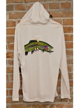 Ugly Bug Fly Shop Ugly Bug Sun Hoodie with Ty Hallock Rainbow