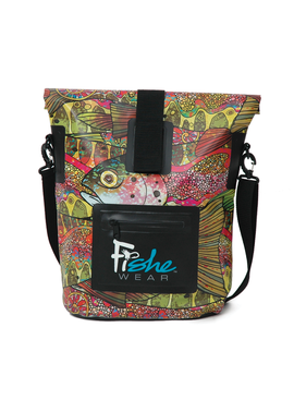 Fishe Fishe Troutrageous Rainbow Dry Bag