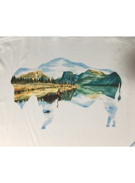 Travis Peak Art Peak art Watercolor Art on Sunhoody